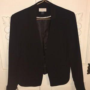 The essential blazer by Anthropologie black sz 12